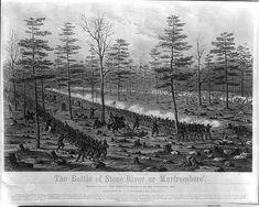 The battle of Stone River or Murfreesboro