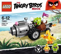 Fuga en el coche de los cerdos, nuevo set de Lego Angry Birds