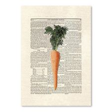 Carrots Poster Gallery Graphic Art