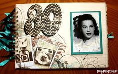 Album Scrapbook BoBunny #BoBunny #MammaRazzi2 #scrap #scrapbook #albumscrapbook #scrapbooking
