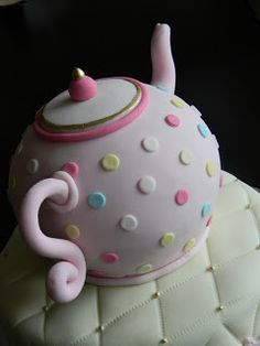 tea pot cake - Google Search