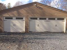 Single & Double Steel Carriage House Garage Doors