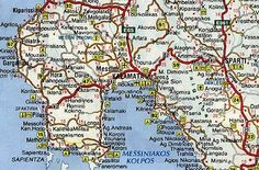 Map Of Kalamata Kalamata Map My dream vacation Pinterest
