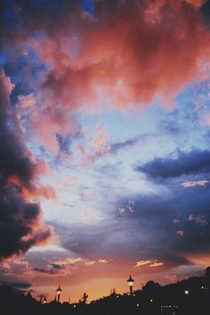 Pantone colored sky