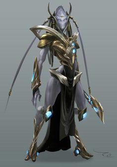 Protoss female (Starcraft)