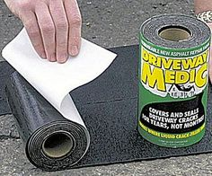 Don't call a contractor - now you can fix cracks with ease using this driveway asphalt repair kit! This foolproof DIY kit will cover cracks for years, so you can help restore your home's curbside appeal without breaking the bank. Asphalt Driveway Repair, Blacktop Driveway, Asphalt Repair, Driveway Sealing, Fix Cracked Concrete, Home Renovation, Stone Driveway, Gates Driveway, Shopping