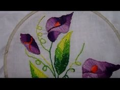 Layer Button Hole Stitch | Hand Embroidery - YouTube