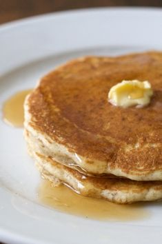 Overnight Whole wheat sourdough pancakes. Whole Wheat Sourdough, Sourdough Pancakes, Sourdough Recipes, Buttermilk Pancakes, Pancakes And Waffles, Sourdough Bread, Bread Recipes, Dough Starter Recipe, Starter Recipes