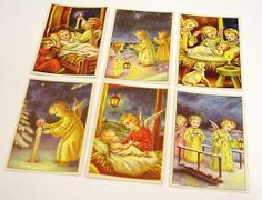Angel Christmas Cards Vintage Holiday Greeting by ITSYOURCOUNTRY, $9.99