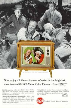 1965 RCA Color TV Ad  (73K bytes)