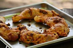 Marinated Spanish Chicken Thighs on the Spanish Chicken, Spanish Food, Spanish Recipes, Chicken Thighs, Tandoori Chicken, Bbq, Food And Drink, Meat, Ethnic Recipes