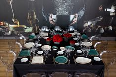 Art de la table Table Settings, Table Top Decorations, Place Settings, Dinner Table Settings, Setting Table