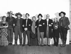 The Cast Of Stagecoach (1939)