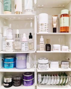 A medicine cabinet so glorious that you can't wait to get ready for bed.  #GetOrganized