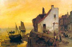 Frits Thaulow, Norwegian (1847-1906)