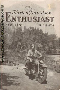 Contents: Touring Central Europe with a Harley-Davidson; A Jolly Christmas; Sport in the Snow - Fast Ice Sled powered by Harley-Davidson; 4-Page Advertising Insert, Favorite Gifts for the Motorcycle Rider; President-Elect Roosevelt greets Motorcyclists; This Sidecar does double duty; Eighteen Years #harleydavidsongifts