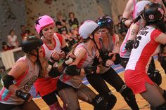 "East Side Story: PCRD ""B"" vs. Warsaw Hellcats Roller Girls"