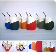 When I was in Argentina, there were Mate cups everywhere! It was so cool to see people drinking mate all day long. I love these modern mate cup designs by Pulso.