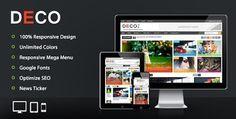 Download – Deco Mag – Responsive Magazine Blogger Template