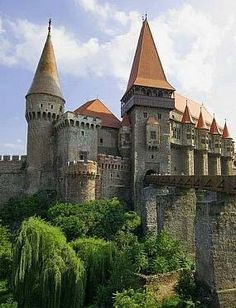 Corvin Castle, Hunedoara, Romania.   ..rh