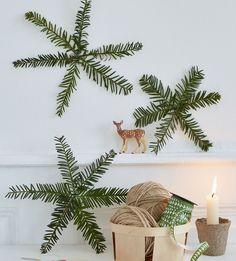 DIY Noël: 6 idées à faire avec des branches de sapin - Marie Claire Idées