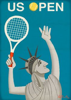 Personal Work Tennis Posters