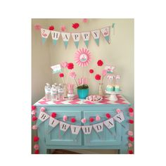 FLAMINGO Birthday Party Pack Pool or Beach by aprettylittleparty
