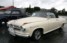 Borgward Isabella Cabrio-sind esrt in den letzten Tagen vor Schliessung des Werkes einige unter der Hand verkauft worden..............tolles Design ;-)
