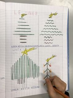 Regioni, confini, linee classe prima e seconda – Maestra Mihaela Christmas Math, Fun Math, Maths, Home Schooling, Kindergarten Math, Math Lessons, Special Education, Elementary Schools, Pixel Art