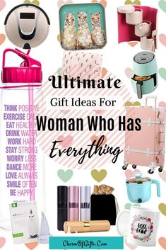 Massive Gift Guide For The Woman Who Has Everything. This amazing photo collections about Massive Gift Guide For The Woman Who Has Everything is available to do Surprise Gifts For Him, Bday Gifts For Him, Gifts For Boss, Birthday Gifts For Women, Gifts For Girls, Birthday Gifts For Coworkers, Gifts For Female Friends, Boss Birthday Gift, Birthday Bash