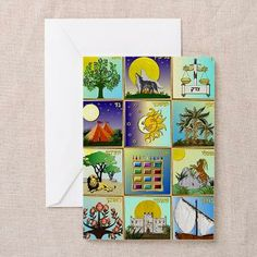 12 Tribes Of Israel Greeting Cards (packet of 20)  by Lee Hiller #Photography and Designs