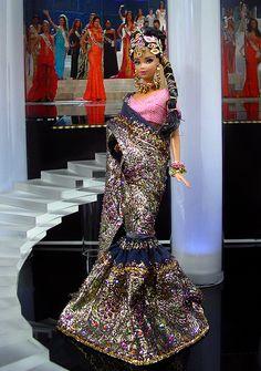 Miss Mauritius 2012 by Ninimomo Dolls