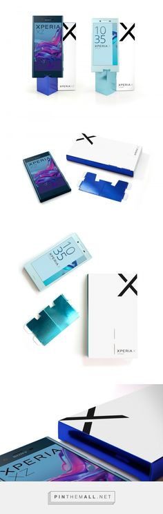 Sony Xperia XZ and Xperia X Compact - Packaging of the World - Creative Package Design Gallery - http://www.packagingoftheworld.com/2016/10/sony-xperia-xz-and-xperia-x-compact.html