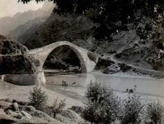 Koniçe'de Köprü, Yunanistan | Eski Türkiye Fotoğrafları Arşivi The Good Place, Greece, The Past, Europe, Island, Istanbul, Amazing Places, Outdoor, Bridges
