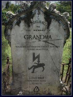 Funny Gravestones