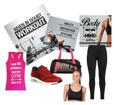 """""""Gym"""" by dodo9541 ❤ liked on Polyvore featuring NIKE, Studio and Jockey"""