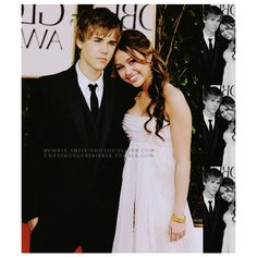jiley wins over jelena. *waits for hate* ❤ liked on Polyvore featuring jiley, miley cyrus, celebs, justin and justin bieber