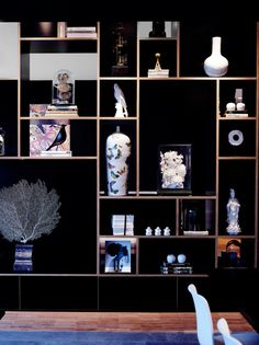 A Bold, Trendy Hotel in Rotterdam - Design Milk Shelf Design, Cabinet Design, Display Shelves, Shelving, Interior Styling, Interior Decorating, Luxury Interior, Retail Design, Interior Inspiration