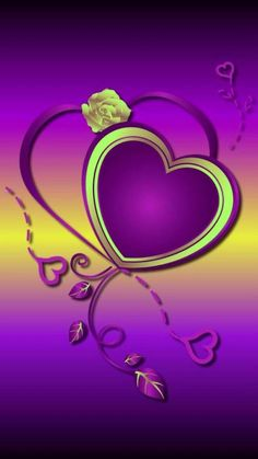 By Artist Unknown. Heart Iphone Wallpaper, Star Wallpaper, Purple Wallpaper, Love Wallpaper, Cellphone Wallpaper, Pretty Backgrounds, Pretty Wallpapers, Wallpaper Backgrounds, Love Heart Images