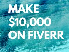 Here are the lists of popular gigs in Fiverr. You can create your own services and potentially make over $10,000!