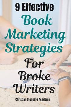 Need some book marketing ideas and tips but don't have tons of money to spend on it? This post will help you plan some ways to market your book without spending a lot of money. Most of these book marketing ideas and strategies are either free or cheap. Email Marketing Services, Marketing Ideas, Online Marketing, Marketing Strategies, Blogging For Beginners, Blogging Ideas, Book Writing Tips, Writers, Authors