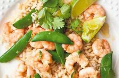 150 family dinners under 500 calories - Garlic, ginger and chilli prawns - goodtoknow