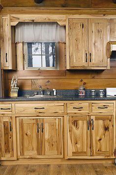 94 Best Hickory Cabinets Images In 2015 Hickory Cabinets
