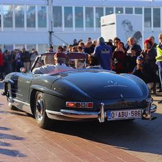 Mercedes Benz #300SL #Roadster. Photo ©Arnaud Malmedy, Belgium / #300SLRestorations #BruceAdams190SL