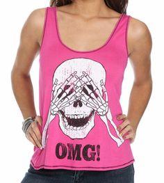 722812cf0c6a9 Crop top skull  the best crop tops skulls to shop - Wheretoget