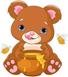 Buy Bear Holds Honey Jar by Dazdraperma on GraphicRiver. Illustration of cute bear preparing to eat honey. Bear Vector, Vector Art, Vector Stock, North Pole Animals, Spider Cartoon, Cute Panda Drawing, Christmas Teddy Bear, Safari Theme, Bear Toy