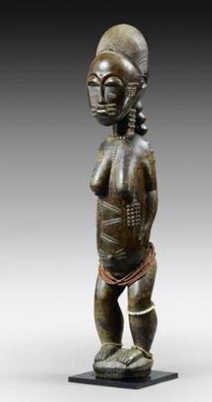 Baule Blolo Bla Figure, Ivory Coast