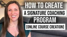 Wondering how to create a signature coaching program that sells? This video will clarify exactly what you need to start getting coaching clients FAST! Online Personal Training, Online Coaching, Becoming A Life Coach, Cool Signatures, Spiritual Coach, Create A Signature, Success Coach, Online Programs, Health Coach