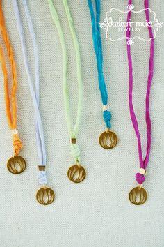 WRAP IT silk cord friendship bracelet or necklace by darleenmeier, $28.00