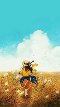 旅途 ~ 插画 jink0308